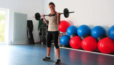 Langhantel Workout mit Karo - Sportline Fitness Kaiserslautern